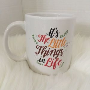 ❤️3/15❤️ It's the Little Things Coffee Mug